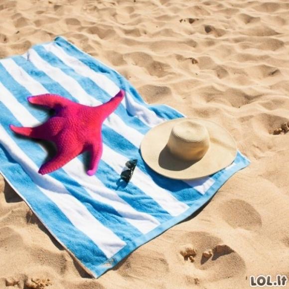 Jūrų žvaigždė, turinti Kardashian užpakaliuką ir jos fotošopai [GALERIJA]