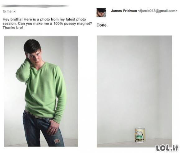 James Fridman - kiečiausias fotošopo meistras pasaulyje [GALERIJA]