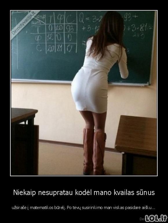 Priežastis mokytis matematikos papildomai
