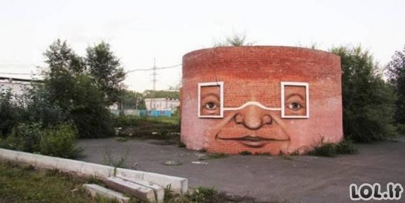 Niūrūs pastatai gauna naują gyvenimą [GALERIJA]