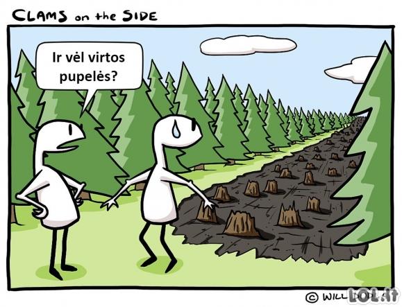 Nelaimingas atsitikimas miške