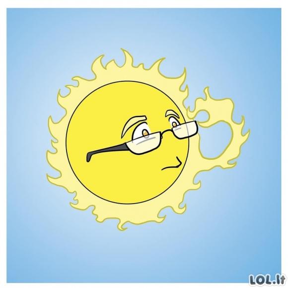 Kaitri saulė