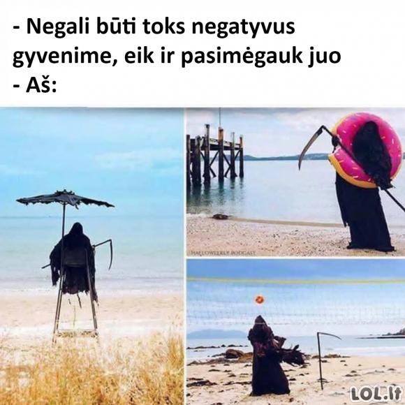 Negatyvus gyvenime