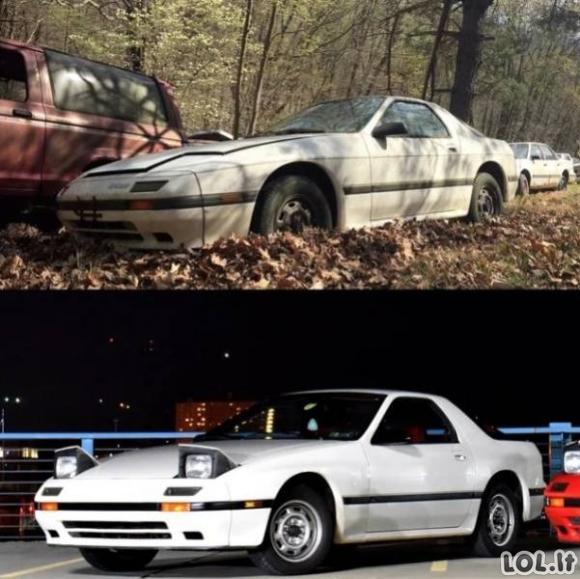 Kiekvienam automobiliui pelnytai priklauso antras šansas [GALERIJA]