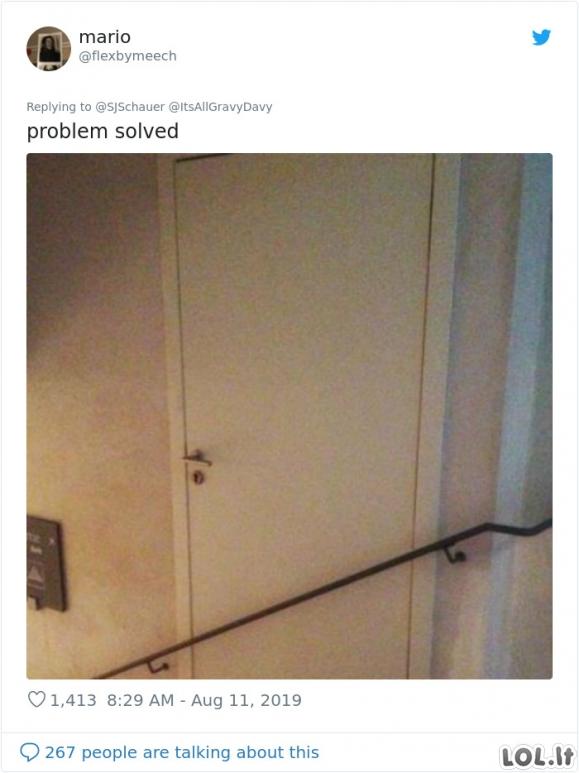 Statybininkai inžinieriai, kuriems trūksta proto ir jų perliukai [GALERIJA]