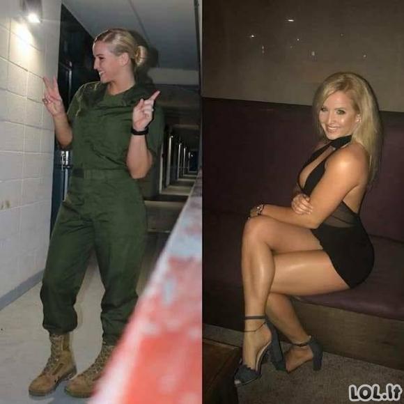 (Ne)Uniformuotos merginos [GALERIJA]