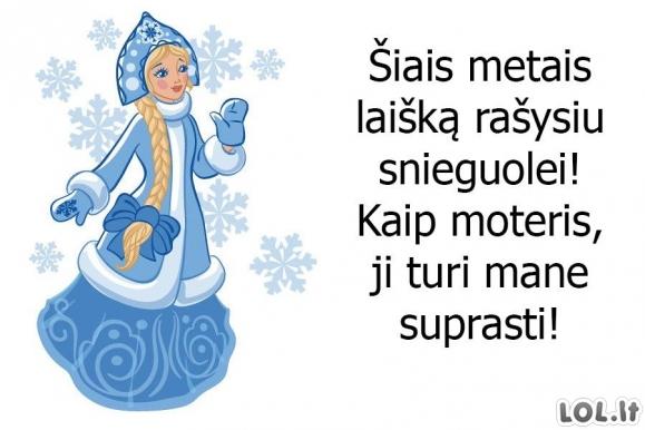Laiškas Snieguolei