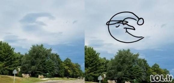 Kai debesys kažką primena [GALERIJA]