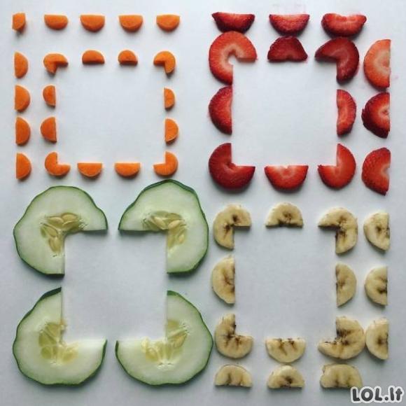 Kai maisto patiekimas atrodo kaip meno kūrinys [GALERIJA]
