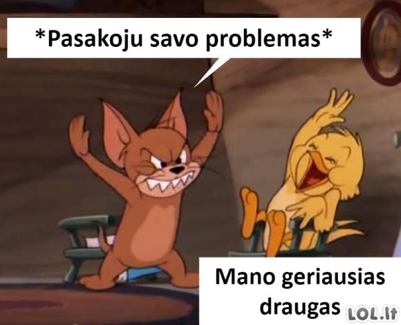 Problemų pasipasakojimas