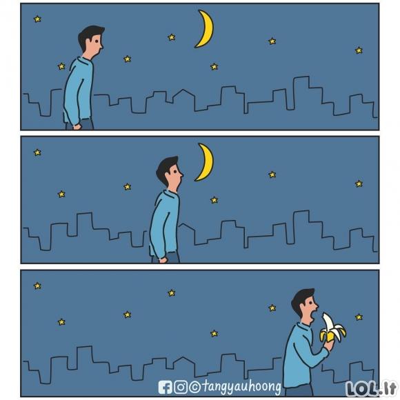 Valgomas mėnulis