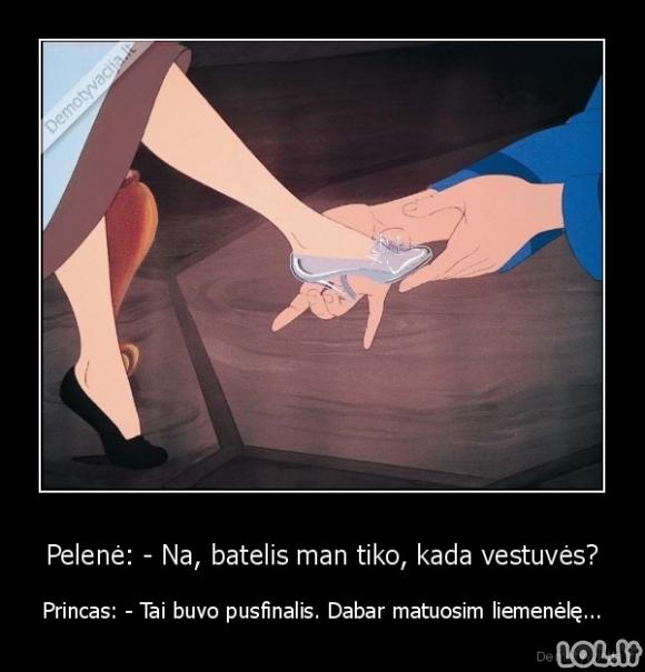 Šiuolaikinis princas iš Pelenės istorijos