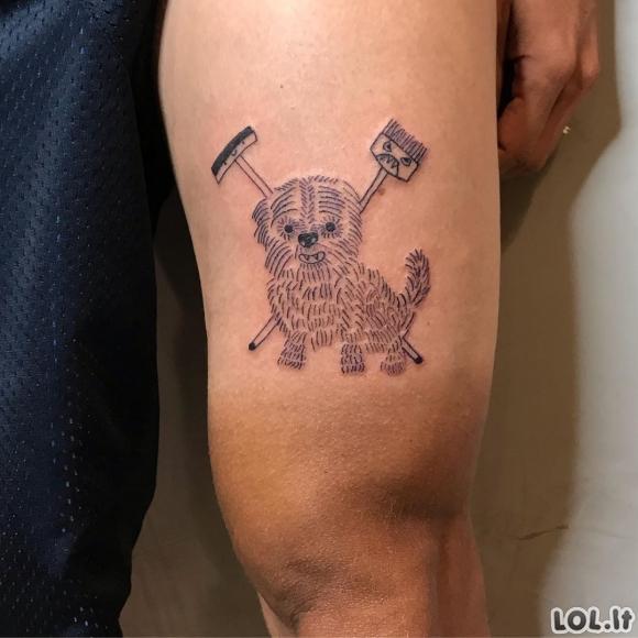 Visi renkasi šią tattoo meistrę dėl to, nes ji nemoka piešti [GALERIJA]