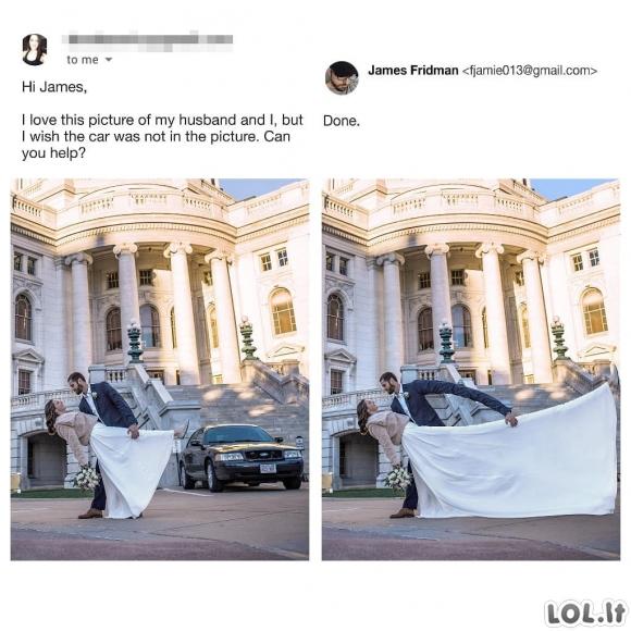 James Fridman - žmogus, kuriam tikrai priklauso geriausių fotošopų titulas [GALERIJA]