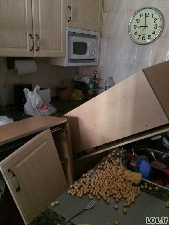 Nesėkmės virtuvėje [GALERIJA]