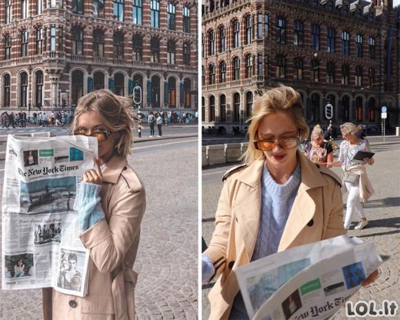 Influencerė atskleidė tobulų socialinių tinklų nuotraukų realybę