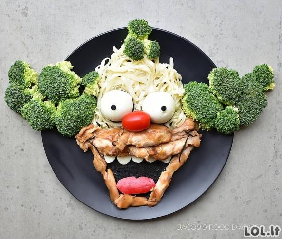 Mama labai išradingai patiekia maistą savo vaikams, kad šie valgytų sveikai [GALERIJA]