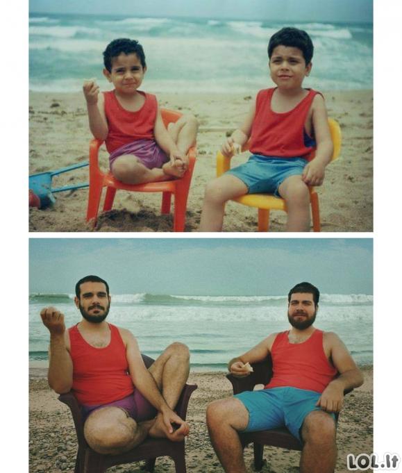 Smagiausios nuotraukos, atkurtos iš vaikystės [GALERIJA]