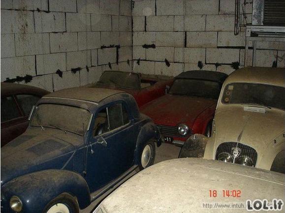 Senelis anūkui paliko apleistą garažą, kuriame jo laukė siurprizas
