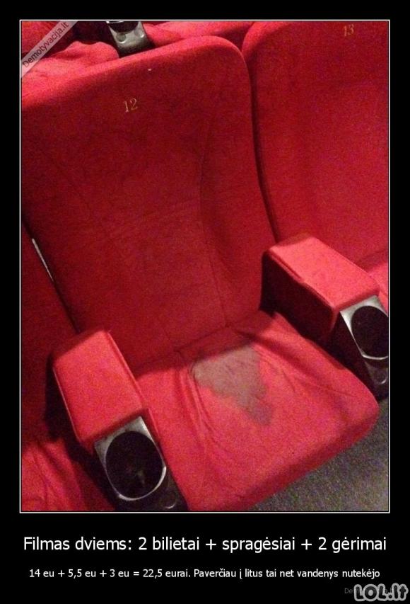 Brangūs filmų seansai