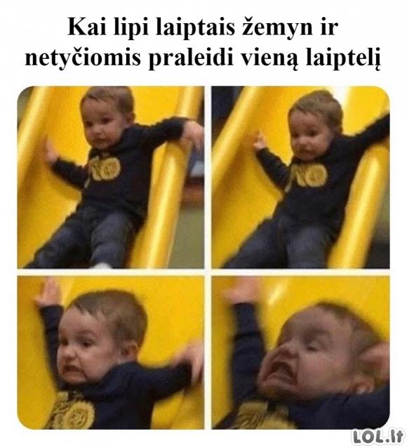 Pavojingi laiptai