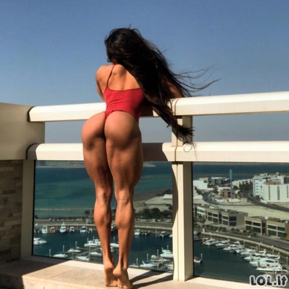 """""""Miss geležinis užpakaliukas"""" dalinasi pikantiškiausiomis savo nuotraukomis instagrame (dar daugiau nuotraukų)"""