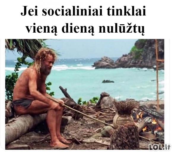 Gyvenimas be socialinių tinklų