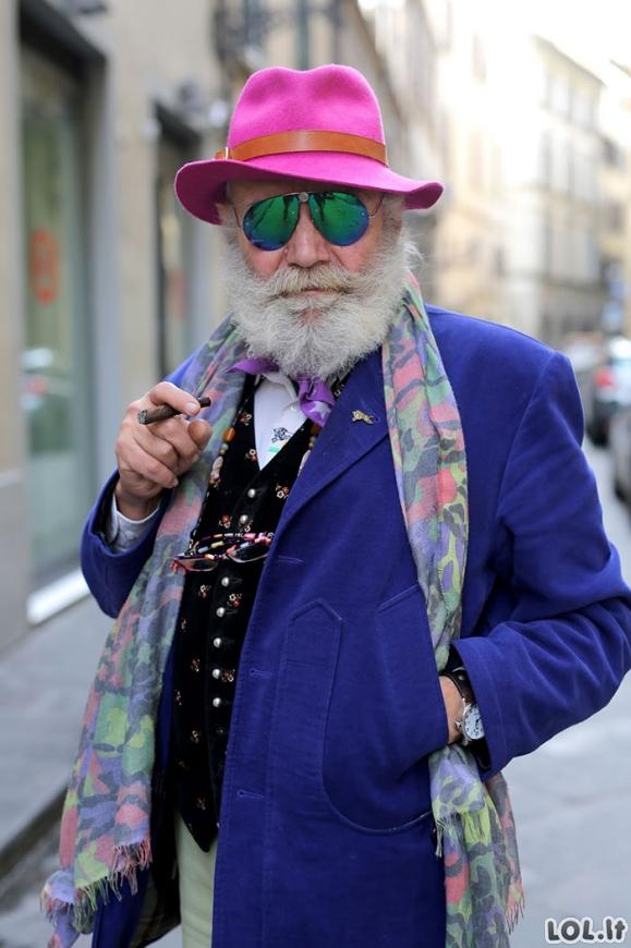 Žadą atimantys itin stilingai ir kietai atrodantys senjorai [GALERIJA]