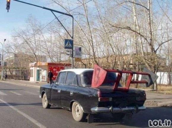 Keisčiausiai atrodantys automobiliai [GALERIJA]