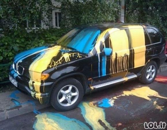 Vairuotojai, kurie buvo nubausti už nedovanotiną parkavimąsi [GALERIJA]
