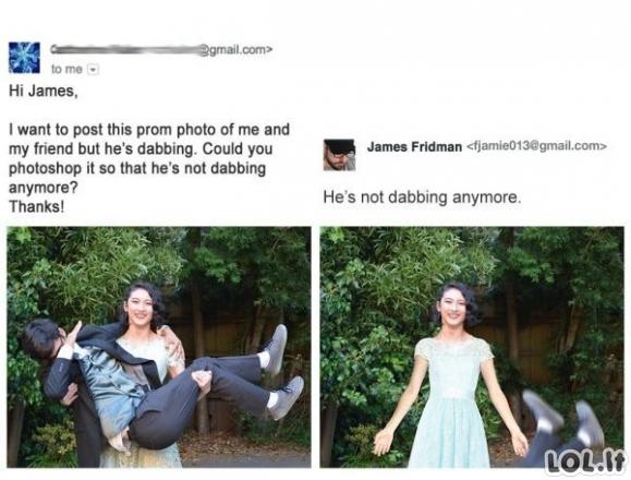 Kai didžiausias fotošopo trolis pafotošopina tavo nuotrauką [GALERIJA]