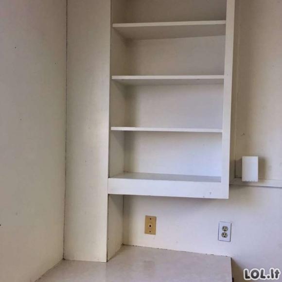 Dvi studentės savo nykų bendrabučio kambarį pavertė šauniu butuku