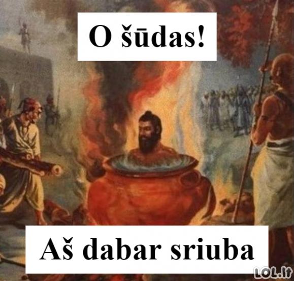 Juodas humoras: Sriuba