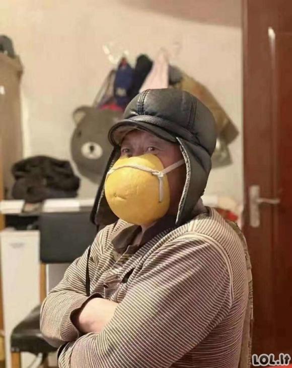 Kaip žmonės Kinijoje saugosi nuo COVID-19