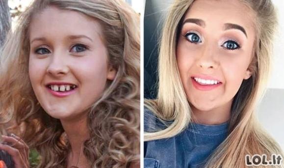 Žmonės pakeitė savo šypseną ir visa kita pasikeitė savaime [GALERIJA]