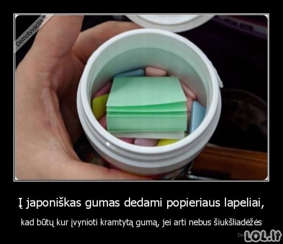 Išmani japonų guma