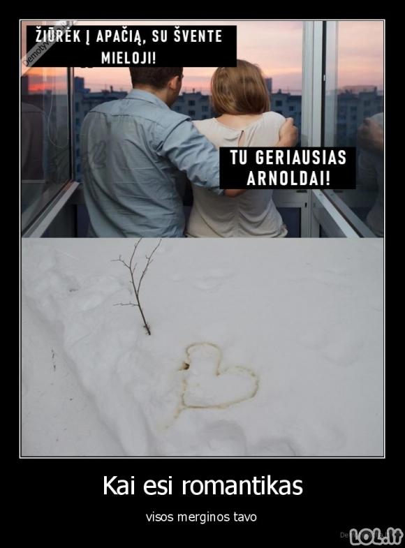 Tobulas romantikas