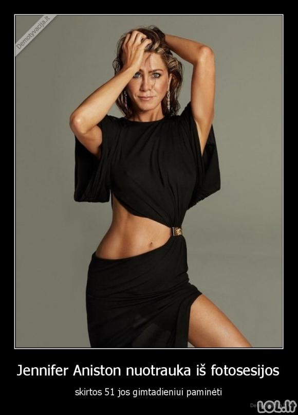Jennifer Aniston nuotrauka iš fotosesijos