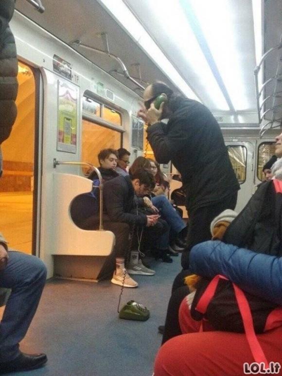 Užsienio viešajame transporte pamatysi kur kas daugiau keistų dalykų, nei pas mus Lietuvoje
