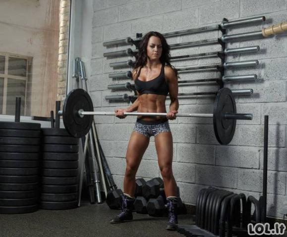 Žavios atletiškos merginos (55 foto)