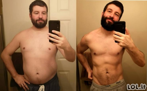 Šie vyrai numetė tiek svorio, jog atrodo kaip visai kiti žmonės! [GALERIJA]