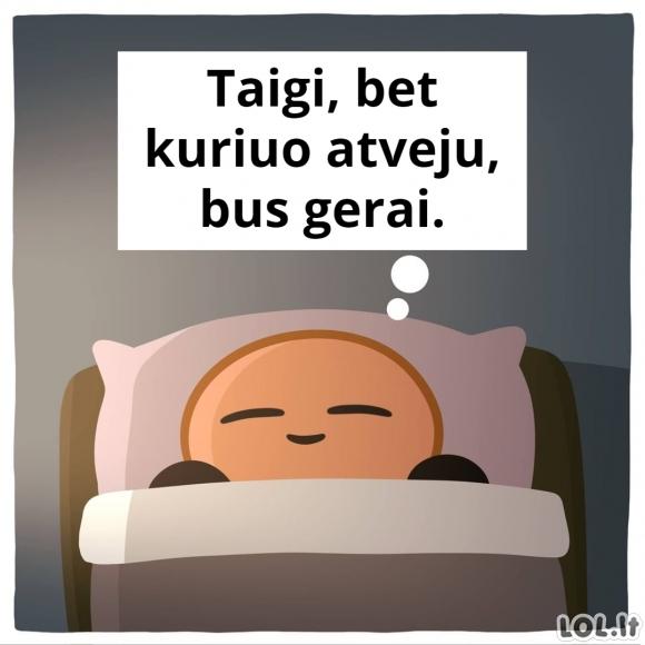 Pamiegoti ilgiau ar atsikelti anksčiau?