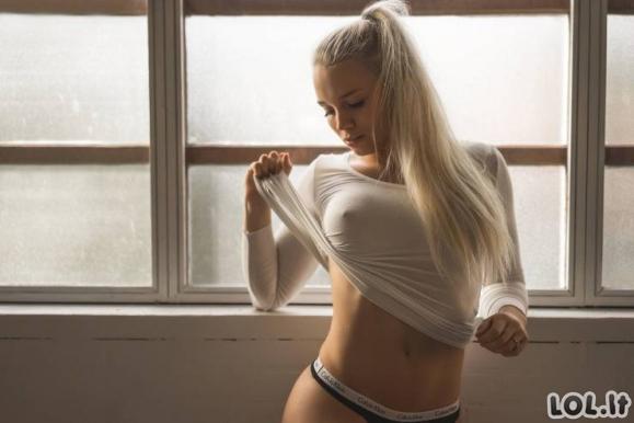 Balti marškinėliai - viskas ko reikia išvesti vyrus iš proto [N-18 GALERIJA]