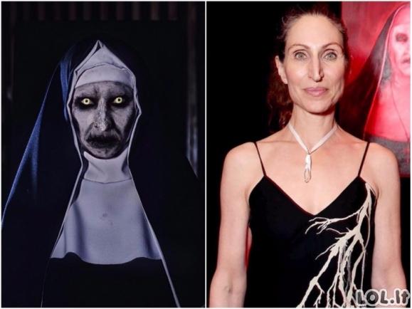 Kaip žymių siaubo filmų aktoriai atrodo be grimo