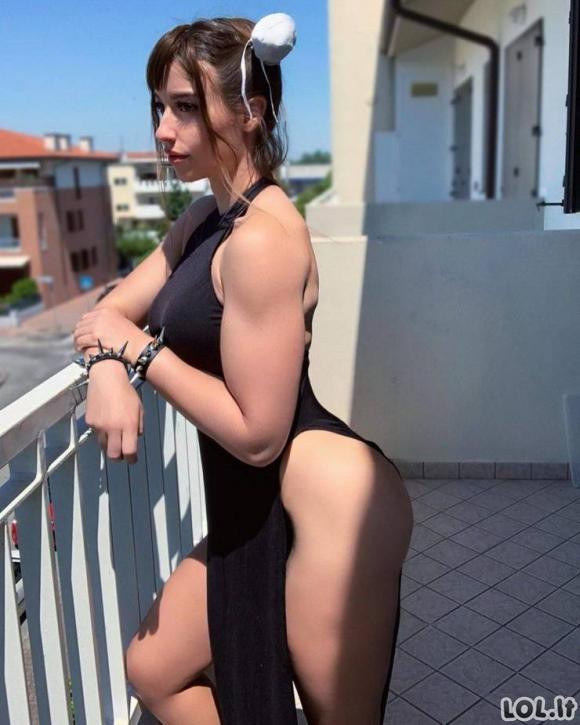 Karštos Cosplay merginos [N-18 GALERIJA]