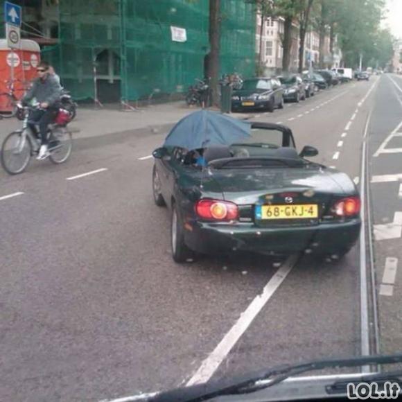 Humoras automobilių vairuotojams [GALERIJA]