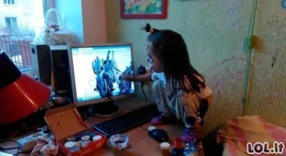 Taip atrodo gyvenimas su vaikais [GALERIJA]