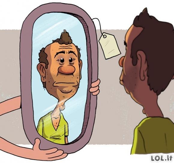 Nekoks veidrodis