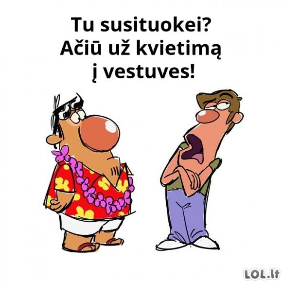 Du draugai Havajuose