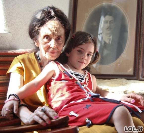 67-erių metų mama pagimdė dukrelę, kuri užaugo sveika ir graži